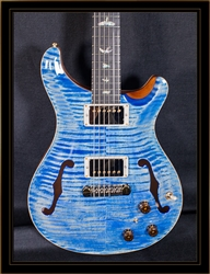 PRS Hollowbody II Piezo Artist Package in Faded Blue Jean with Maple Neck