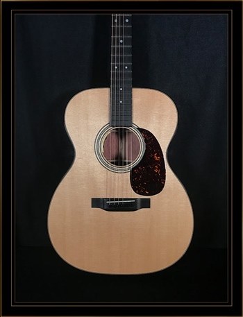 Martin Custom OM-14 with Quilted Bubinga Back and Sides and VTS Sitka Spruce Top