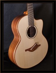 Lowden FMcFF Guatemalan Fan Fret with Cutaway and Alpine Spruce Top