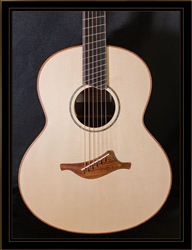 Lowden F-35 Fan Fret in Indian Rosewood with Adirondack Spruce Top