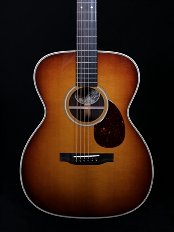 Collings OM2H with Sunburst Baked Sitka Spruce Top