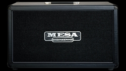 Mesa Boogie 2x12 Horizontal Rectifier Cabinet in Black Taurus with Celestion Creamback 65 Speakers