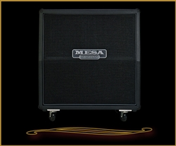Mesa Boogie 4X12 Recto Traditional Slant Cabinet with Celestion Creambacks