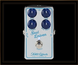 Xotic Soul Driven Overdrive Pedal