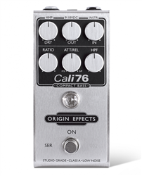 Origin Effects Cali76 Compact Bass Deluxe Studio-Style Compression Pedal