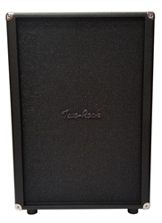 Two-Rock 2x12 Cabinet in Black Bronco with Sparkle Matrix Grille