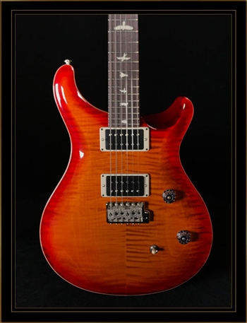 PRS CE 24 Bolt-On in Dark Cherry Sunburst