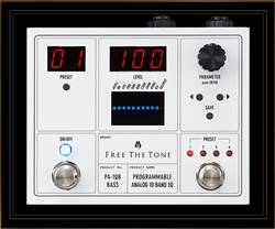 Free The Tone PA-1QB Programmable Analog 10 Band EQ Pedal for Bass Guitar