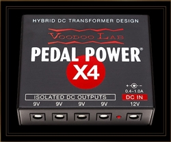 Voodoo Lab Pedal Power X4 Isolated Pedalboard Power Supply