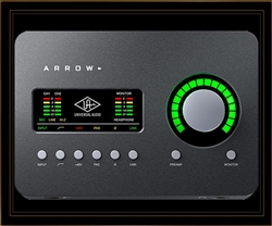 Universal Audio Arrow Thunderbolt 3 Recording Interface with SOLO Processing