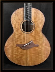 Lowden S-35MFF Fiddleback Mahogany Fan Fret