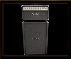 Two-Rock Bloomfield Drive 2x12 Cabinet in Slate Grey with Silver Grille