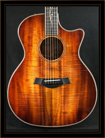 Taylor K24CE All Koa Grand Auditorium with V-Class Bracing