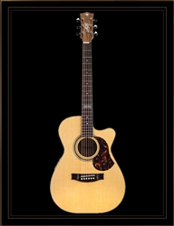 Maton EBG808TEC Tommy Emmanuel Signature Model with Cutaway