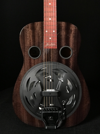 Beard Jerry Douglas Signature Blackbeard Squareneck Resonator with Fishman Electronics and Hipshot Doubleshot Bridge
