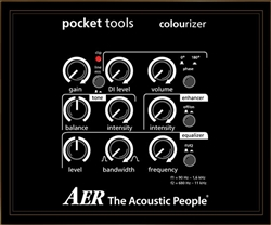 AER Colourizer 2 Preamp and DI for Acoustic Guitar