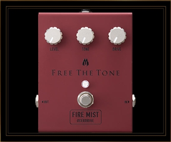 Free The Tone FM-IV Fire Mist Overdrive Pedal