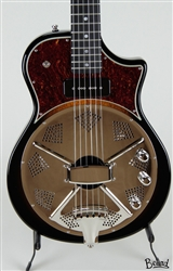 Beard Resoluxe Solidbody Resonator Guitar in Yellow Burst