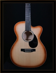 Martin Custom 000-14 Fret with Cutaway in Quilt Maple