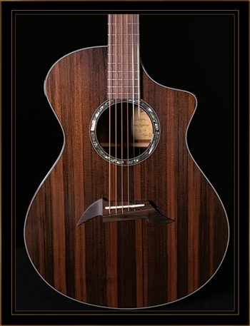 Breedlove Custom Concert in Cocobolo with Sinker Redwood Top