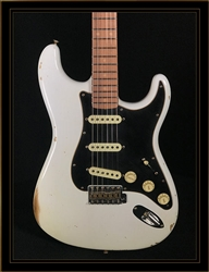 Fender Custom Shop Roasted Dual-Mag Stratocaster in White Blonde