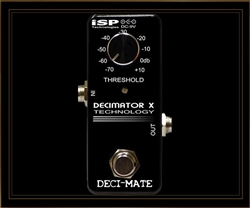ISP DECI-MATE Micro Decimator Noise Reduction pedal