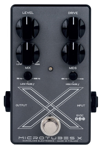 Darkglass Electronics Microtubes X Multiband Bass Distortion Pedal