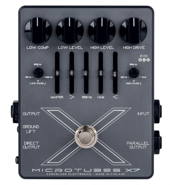 Darkglass Electronics Microtubes X7 Multiband Bass Distortion Pedal