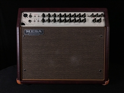Mesa Boogie Rosette 300 One:Ten Acoustic Combo in Wine Taurus with Gold Grille