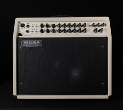 Mesa Boogie Rosette 300 One:Ten Acoustic Combo in Cream Bronco with Black Jute Grille