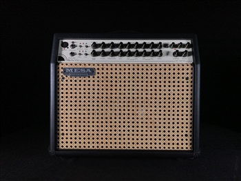 Mesa Boogie Rosette 300 One:Ten Acoustic Combo in Black Taurus with Wicker Grille