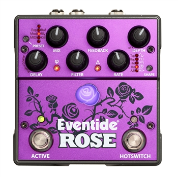 Eventide Rose Modulated Delay Pedal