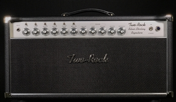 Two-Rock Silver Sterling Signature 150W Head in Black