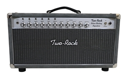 Two-Rock Silver Sterling Signature 150W Head in Grey Suede