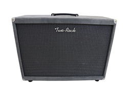Two-Rock Silver Sterling Signature Horizontal 2x12 Cabinet in Grey Suede