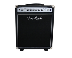 Two-Rock Studio Signature 1x12 Combo in Black with Silver Anodized Chassis