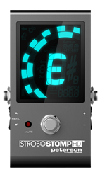 Peterson StroboStomp HD Compact Pedal Strobe Tuner