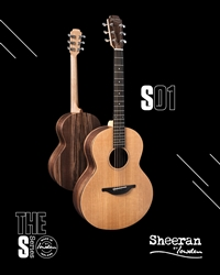 Sheeran by Lowden S-01 in Walnut and Cedar