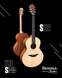 Sheeran by Lowden S-02 in Santos Rosewood and Sitka Spruce