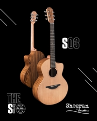 Sheeran by Lowden S-03 in Santos Rosewood and Cedar