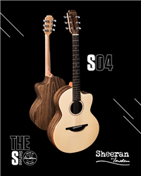 Sheeran by Lowden S-04 in Figured Walnut and Sitka Spruce