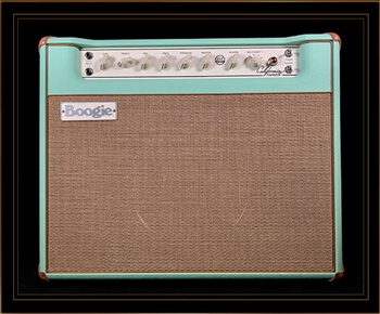 Mesa Boogie California Tweed 6V6 4:40 1x12 Combo in Surf Green