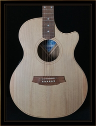 Cole Clark Angel 2EC with Bunya Top and Tasmanian Blackwood Back and Sides