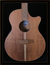 Cole Clark Angel 2EC with Australian Blackwood Top Back and Sides