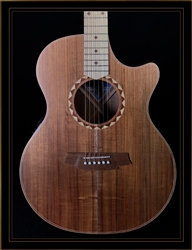Cole Clark Angel 2EC with Australian Blackwood Top, Back, and Sides, and Satinbox Fretboard