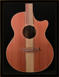 Cole Clark Angel 2EC with Redwood Top and Blackwood Back and Sides