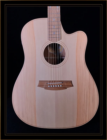 Cole Clark Fat Lady 2EC with Bunya Top and Tasmanian Blackwood Back and Sides