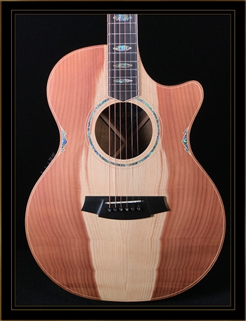 Cole Clark Angel 3EC with Redwood Top and Blackwood Back and Sides