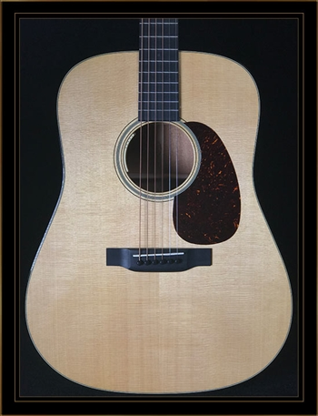 Martin D-18E with Anthem Electronics