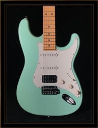 Suhr Classic S in Surf Green with HSS Pickup Configuration and Maple Fretboard